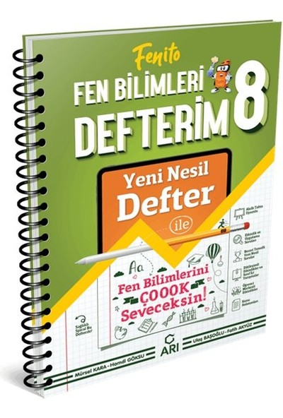 Arı Yayıncılık Arı Yayınları 8. Sınıf Fen Bilimleri Akıllı Defter