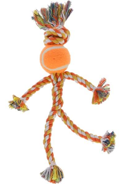Kerbl Köpek Diş Ipi Top Kafalı Çizgi Adam 30 cm