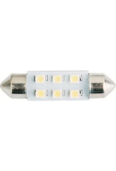 Easterner Sofit Ampül 6 LED Yeşil 12 V