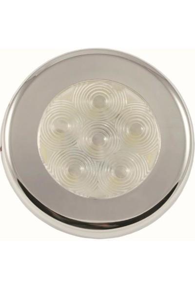 Easterner Gömme Spot Krome 12 V 6 LED Gün Işığı