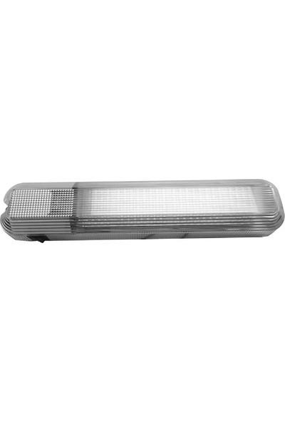 Easterner Plastik Florasan Tip Lamba 60 LED Gün Işığı