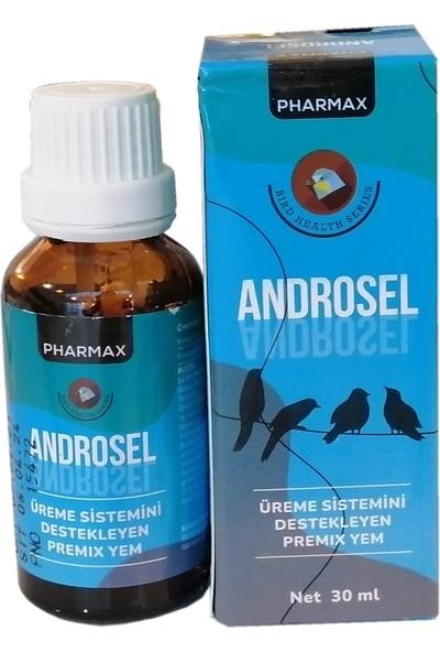 Pharmax Androsel Kuş Üreme Sistemi Desteği 30 ml