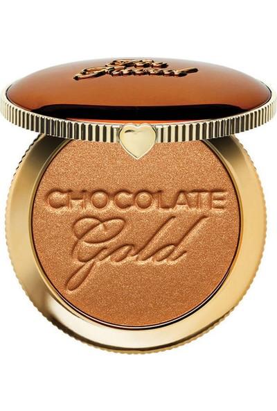Too Faced Chocolate Gold Bronzlaştırıcı Pudra