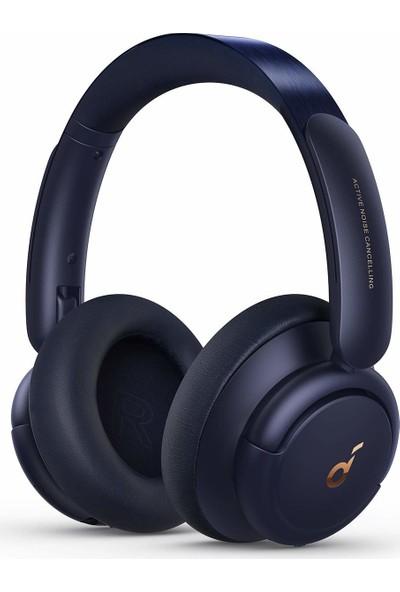 Anker Soundcore Life Q30 Bluetooth Kablosuz Kulaklık - Hibrit Aktif Gürültü Önleyici ANC - Midnight Blue - A3028