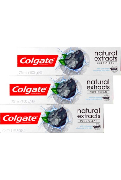 Colgate Natural Extracts Kömürlü & Limonlu Diş Macunu 75 Ml