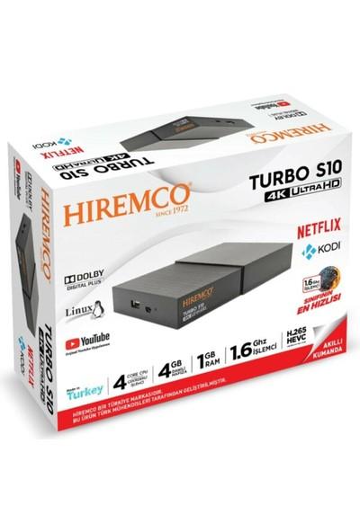 Hiremco Turbo S10 4K Uydu Alıcısı