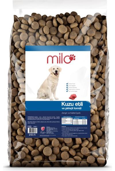 Milo Kuzu Etli Yetişkin Köpek Maması 1kg x 5 adet