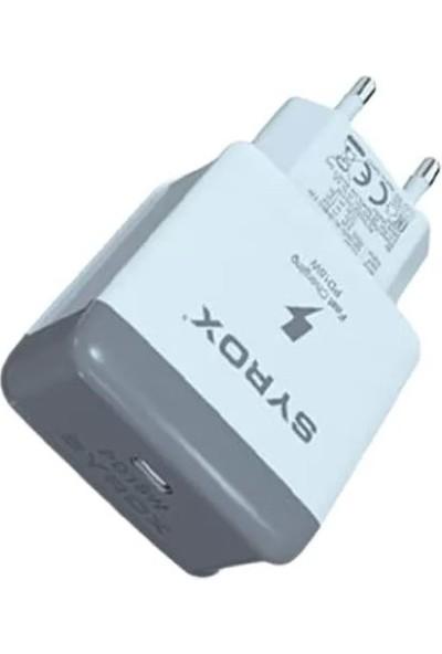 Syrox Usb-C Ile Şarj Edilebilen Tüm Ipad, Iphone, Tablet ve Telefonlar Için Kullanıma Uygundur
