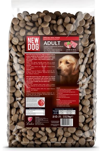 New Dog Kuzu Etli Yetişkin Köpek Maması 1kg x 5 adet
