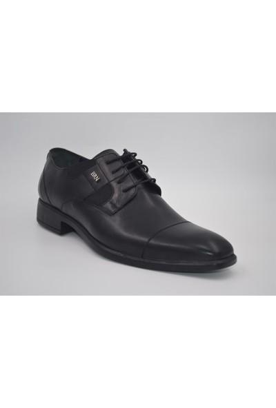 Berenni Erkek Rahat Taban Deri Günlük Ayakkabı 371 Berenni Siyah