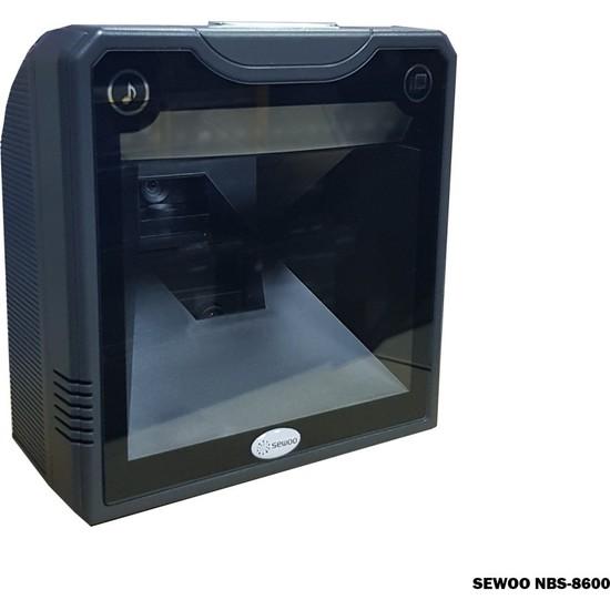 Sewoo NBS-8600 Lazer Masaüstü 1d/2d Usb/seri Barkod Okuyucu