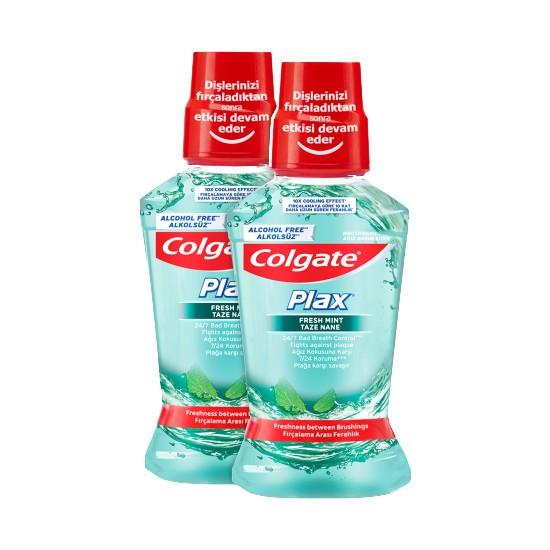 Colgate Plax Taze Nane Alkolsüz Ağız Bakım Suyu 250 ml x 2'li