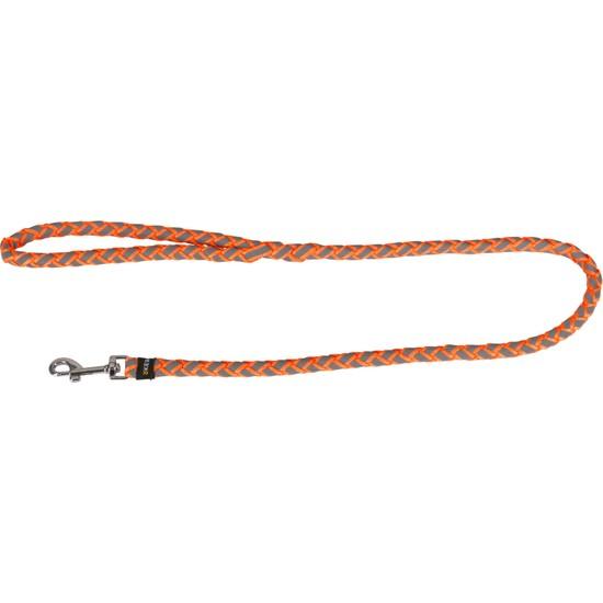 Kerbl Reflektörlü Maxi Safe Köpek İpi Gri - Turuncu L