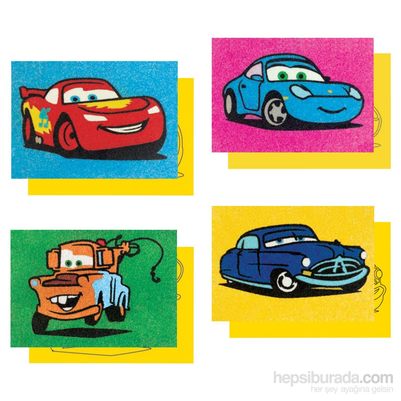 Red Castle Disney Dörtlü Kum Boyama Seti Cars Lightning Fiyatı