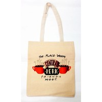 Köstebek Friends - Central Perk Bez Çanta