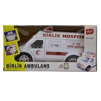 Birlik Pilli Sesli Işıklı Hareketli Ambulans