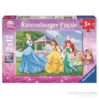 Ravensburger WD Prensesler - 12X2p Puzzle