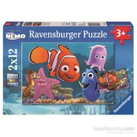 Ravensburger WD Nemo - 12X2p Puzzle