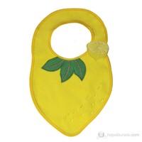 BabyJem Limon Desenli Mama Önlüğü