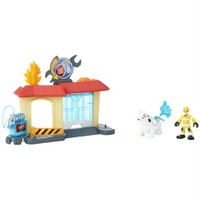 Playskool Transformers Rescue Bots Griffin Rock Garaj Oyun Seti