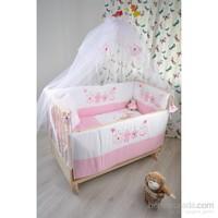 Bebekonfor Elyesa Beşik Pembe Sweet Pink Set