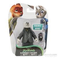 Zootropolis Figürler 2Li Paket Mayor Lionheart & Lemming Businessman