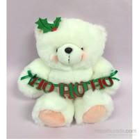 Hallmark Beyaz Peluş Ayı 8'Inc Ho Ho Ho