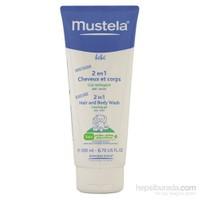 MUSTELA 2 in 1 Hair & Body Wash 200 ml - Saç ve vücut şampuanı