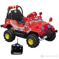 Aliş Mini Jeep Kumandalı Akülü Araç / Kırmızı
