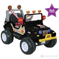 Aliş Turbo Akülü Jeep / Siyah