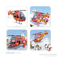 Janod Puzzles - Peter's Helıcopter