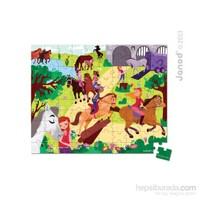 Janod Puzzles - Horse Rıdıng