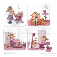 Janod Puzzles - Lılou Plays Wıth Dolls