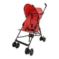 Dukaddo Bambi Baston Bebek Arabası Kırmızı