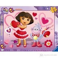 Ravensburger Dora Puzzle 35 Parça B. Çerçeveli