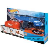 Hot Wheels Kurtarma Ekibi Oyun Seti - Süper S.W.A.T. Copter