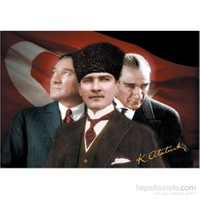 Gold Puzzle 500 Parça Puzzle Atatürk Üç Portre