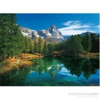 Clementoni 500 Parça Puzzle The Blue Lake - Cervino