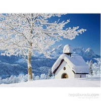 Clementoni 500 Parça Puzzle White Alpen