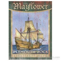 Clementoni 500 Parça Ahşap Efektli Puzzle - Mayflower