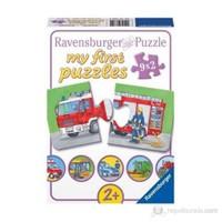 Ravensburger İlk Puzzle Araçlar 9x2p PUZZLE