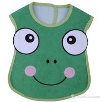 BabyJem Kurbağa Önlük / Yeşil