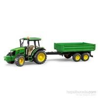 Bruder John Deere 5115M Traktör Ve Römork - BR02108