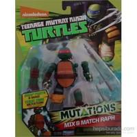 Giochi Preziosi Ninja Turtles Mutasyon Aksiyon Figür Mix & Match Raph