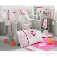 Kidboo Happy Birtday Pink Park Yatak Uyku Seti