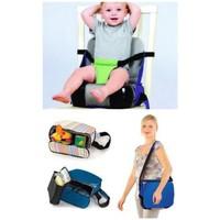 Kidskit Taşınabilir Mama Sandalyesi Çizgili