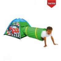 Sunman Çocuk Oyun Çadırı Tünelli-Yarışçı Modeli 170X112x94cm