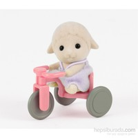 Sylvanian Families Sheep Baby W Tricycle