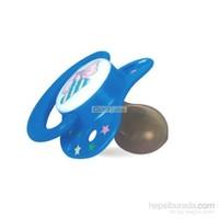 Bebedor Desenli Damaklı Yassı (6-18Ay-L) Kauçuk Emzik