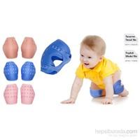 Sevi Bebe Destekli Emekleme Dizliği -Mavi